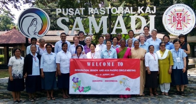 2017 Integration for Mission session, in Indonesia