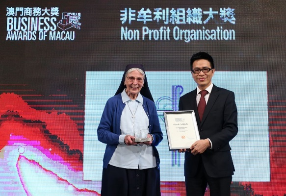 Good Shepherd in Macau receives Business Council Award